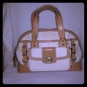 Authentic Coach miranda limited edition satchel